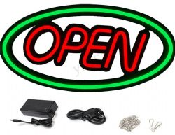 LED Neon Effect OPEN Sign 2